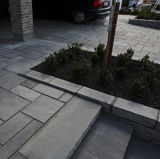 mursten i Grey sandstone