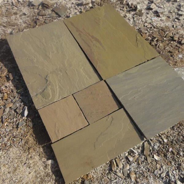 Large opus mix til indkørsel i Naturel Sandstone