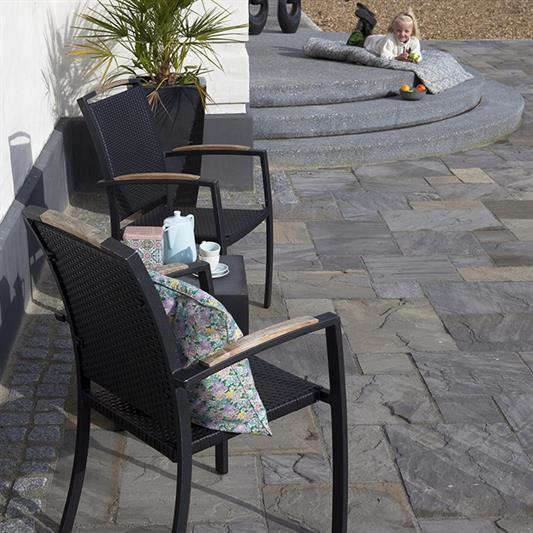 60x90 cm Dark sandstone - en del af Artikektmønstret