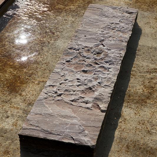 Dark sandstone trappetrin 1 m