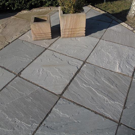 60x60 cm grå sandsten