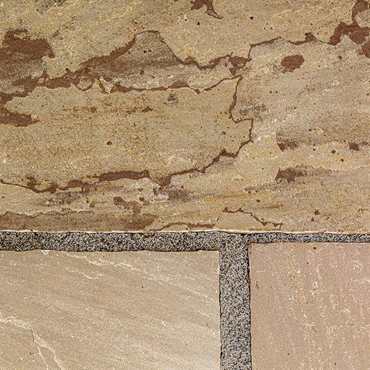 60x90 cm til indkørsel i olive sandsten