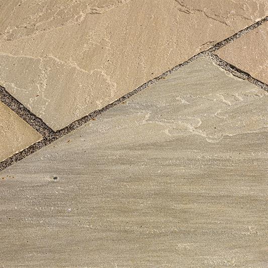 60x90 cm i olive sandsten
